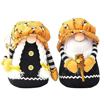 Bee Day Gnome Plush Decorations, Handmade Plush...