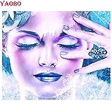 n a Quotazione Completa Daimond 5D & quot; Makeup Woman & quot; Quadrato 3D Diamante Rotondo Mosaico Pittura Strass Diamante Ricamo Nordic Decordiamond Diamante Rotondo 30 * 40Cm Diamante Disegno NA