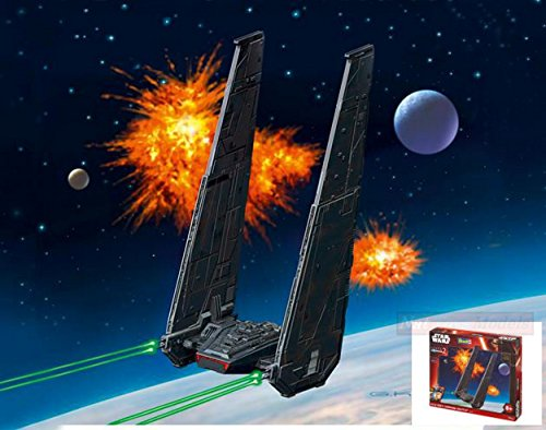 Revell RV06695 Star Wars Kylo REN'S Command Shuttle Kit 1:93 MODELLINO Model Compatible con