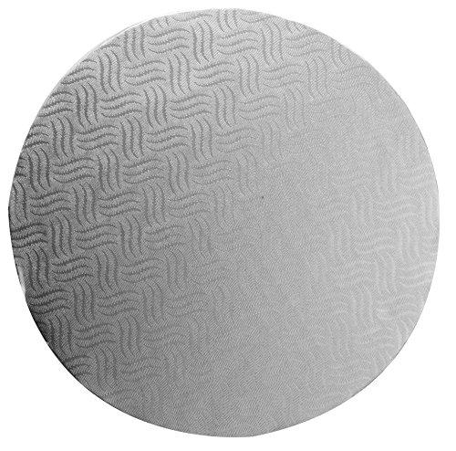 Mason Cash Lot de 6 planches à gâteau rondes Argenté 35 cm Épaisseur 4 mm