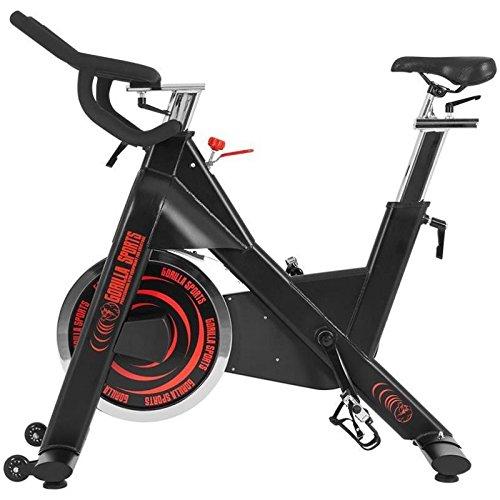 Gorilla Sports Vélo d'appartement - Racing Bike 2.0