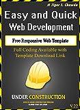 Responsive Web Template: V22 (English Edition)