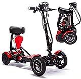 Scooter Per Mobilità Pieghevole Elettrica, Potenza Leggera Per Sedia A Rotelle Per Disabili Scooter...