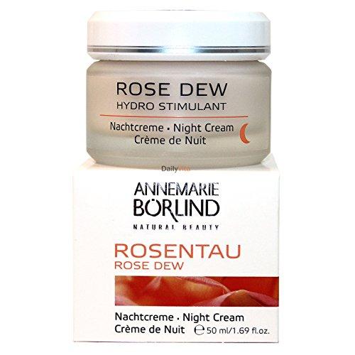 AnneMarie Borlind Hydro Stimulant Night Cream Rose Dew