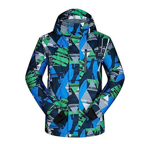 Jianghuayunchuanri Outdoor-jas met meerdere zakken, winterjas, winddicht, winterjas, ski's, waterdicht, voor heren, bergen, warm en waterdicht