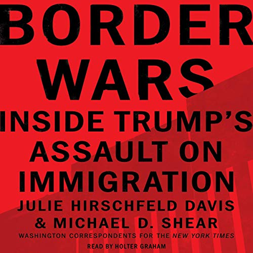 Border Wars audiobook cover art