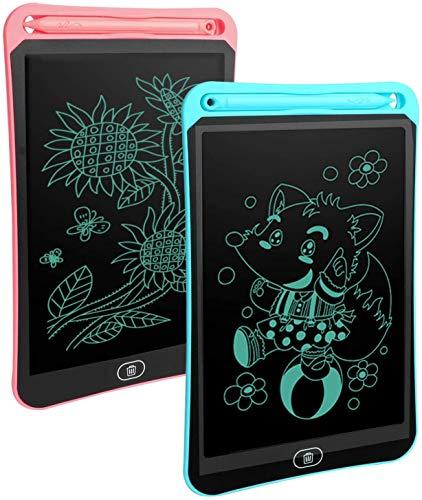 Wikay Tableta de escritura LCD de 8.5 pulgadas tablero de dibujo de escritura a mano reutilizable digital Ewriter electrónico gráficos portátil Mini tablero de dibujo Pad juguete