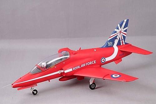 BAE Hawk rouge Arrows EDF 80mm PNP FMS