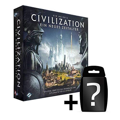 Civilization - Ein neues Zeitalter - Grundspiel | DEUTSCH | Neuauflage | Set inkl. Kartenspiel