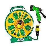 Kmt tools - Manguera plana enrollable, Tubo de riego...