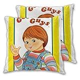 Fundas de cojines 45 x 45 cm Good Guys Childs Play Funda de almohada de tiro Chucky Funda de almohad...