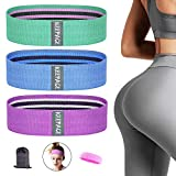 KEEPACE Resistance Bands for Women Butt and Legs, Fabric Non-Slip Exercise Bands, 3 Levels Glute Bands with Thick Wide, Booty Bands for Men, Elastic Workout Bands for Squat Hip Training Home Fitness