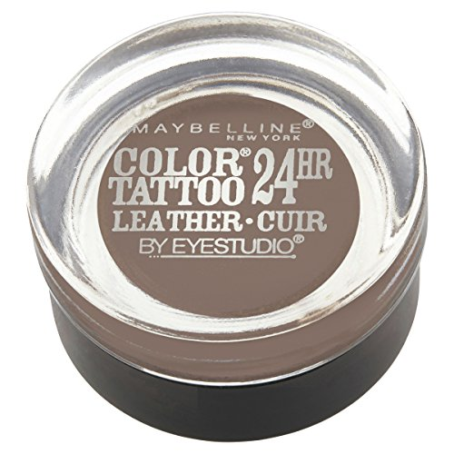Maybelline New York Eyestudio ColorTattoo Metal 24HR Cream Gel Eyeshadow, Creamy Beige, 0.14 Ounce (1 Count)
