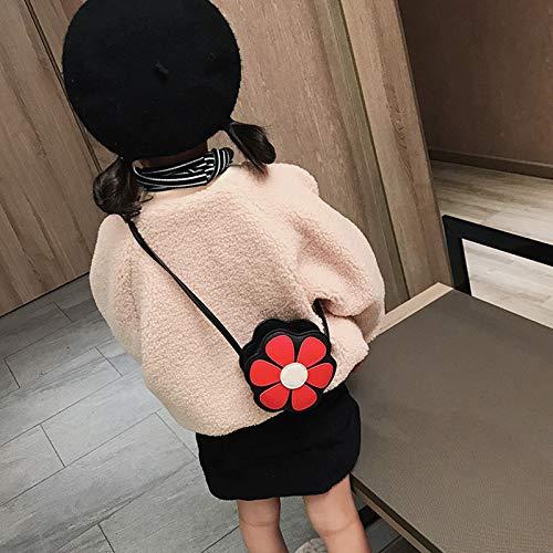Dorime Spielzeug Mini Messenger Bag Nette Blumen Kinder S Geldbörsen Kinderhandtaschen Schulter-