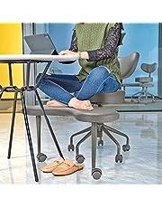 Pipersong Meditatiestoel, kruispotige bureaustoel met rugsteun en verstelbare kruk, ergonomische Executive stoel voor thuis en op kantoor, voor meerdere zitposities