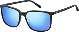 فوسيل نظارة شمسية للرجال ، ازرق