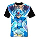 maichengxuan T-Shirts à Manches Courtes, T-Shirt Short Sleeve Megaman X Legacy Collection Tee Shirt Running Tshirt for Men&Women