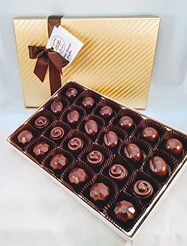 Creek House Chocolates 24 Organic Vegan Chocolate Truffles, Debut