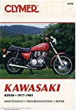 Clymer Manuals M358 Kawasaki Kz650 Motorcycle Repair Service Manual