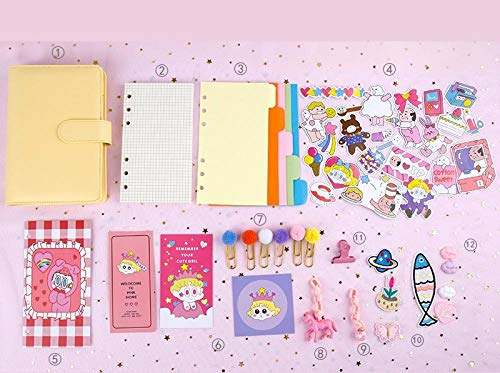 Pocket Dagboek 2020 Hand Boek Handboek Geruit Losbladige Leuke pak Dag Notebook Dagelijkse Planner Citroen Geel