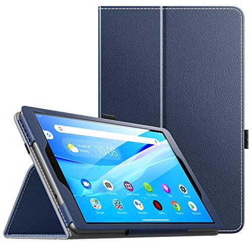 MoKo Hulle Kompatibel mit Lenovo Tab M8 HD TB 8505F TB 8505X Smart Tab M8 TB 8505FS Tab M8 FHD TB 8705F Schlanke Leichte TPU Schutzhulle Tablet Cover Stander Case Indigo