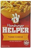 Betty Crocker Hamburger Helper, Classic Three Cheese, 6-Ounce (Pack of 6 ) by Hamburger Helper