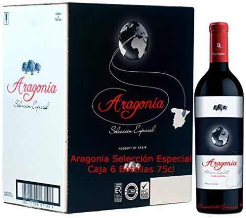 Vino ARAGONIA SELECCIÓN ESPECIAL 2017, Caja 6 botellas 75 cl D.O. CAMPO DE BORJA