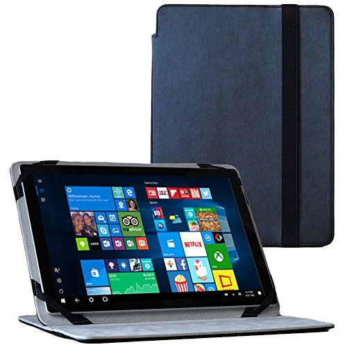UC-Express Tablet Tasche für I.onik Global Tab L701 Hülle Schwarz Schutzhülle Hülle Cover