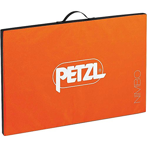 PETZL Unisex - Adulto Crashpad Nimbo Orange 75x50x3cm