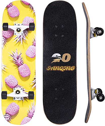 ZJRA Standard Tricks Skateboard Komplett 31