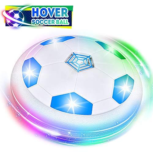 Easony Spielzeug ab 3 4 5 6-12 Jahren für Jungen, Geschenke für Jungen ab 3-12 Kinder Air Power Fußball Spielzeug Kinder 4 5 6 7 8 Jahre Geburtstagsgeschenk 3-12 Jahre alte Jungen Mädchen Blau