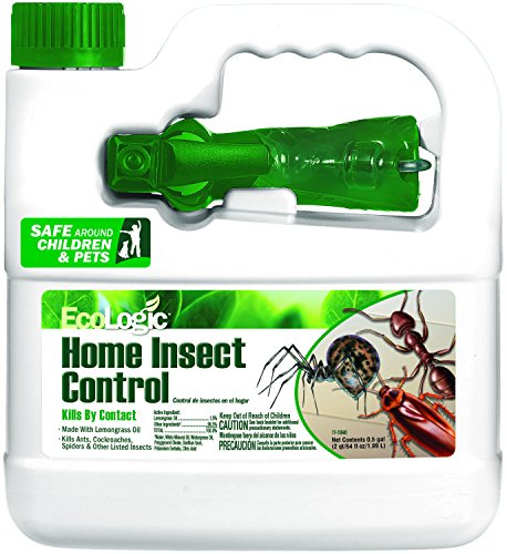 EcoLogic HG-75003 Home Insect Control, Ready-to-use, 64-Fluid Ounces