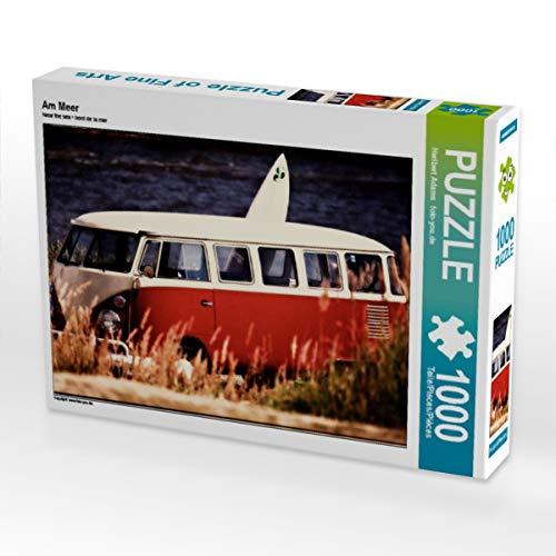 CALVENDO Puzzle Am Meer 1000 Teile Lege-Größe 64 x 48 cm Foto-Puzzle Bild von Heribert Adams - Lensviper