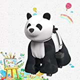 HOVER HEART Rechargeable 6V/7A Plush Animal Ride On Toy for Kids (3~7 Years Old) with Safety Belt...