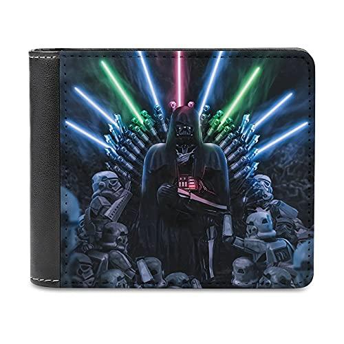 Star Wars Darth Vader Geldbörse, modisch, tragbar, PU-Leder, Brieftasche, Kreditkartenhalter, 11,7 cm, schlankes Design