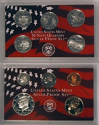 2002 S Silver Mint Proof Uncirculated