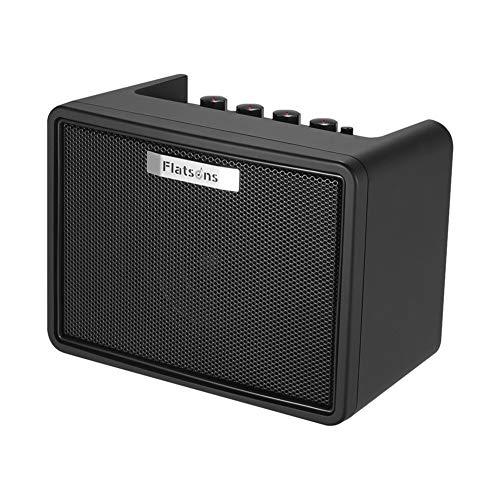 Portable Desktop-Gitarrenverstärker 3W elektrische Gitarren-Mini-Modeling-Verstärker für Gitarre (Color : 01)