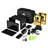 Ikan DH7-DK-C 4K Support HDMI On-Camera Monitor Deluxe Kit for Canon 900, Black