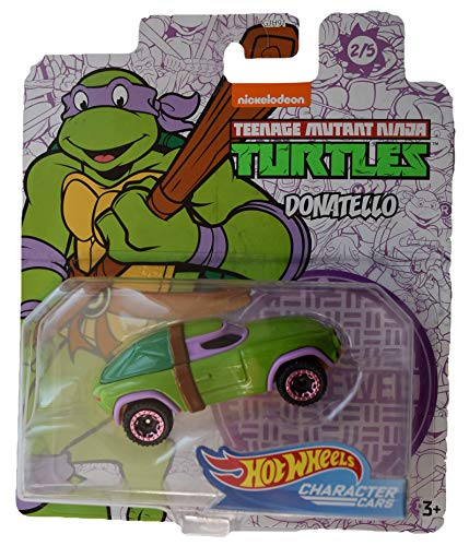 Hot Wheels Character Cars TMNT Donatello #2 of 5 Cars