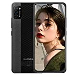 Mobile Phone, HAFURY 4G Smartphone SIM Free Unlocked Cheap Phones, Android 10, Triple Cameras, Dual SIM, 2G+16G/128G Extension, Face Recognition, UK Version-Black