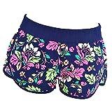 Pantaloncini da Bagno Corti - Shorts - Adulti - Donna - Ragazze - Fantasia a Fiori - Sexy - Moda Mare - Spiaggia - Piscina Sport - Primavera - Estate - Taglia XS - Idea Regalo Compleanno