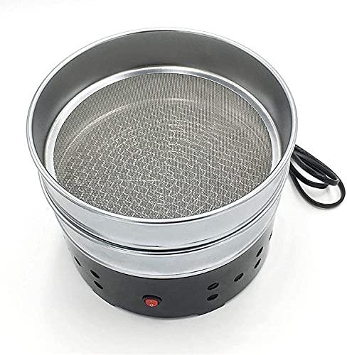 WXking コーヒー豆の焙煎機の家庭用コーヒー豆のクーラー電気冷却コーヒー豆機がステンレス鋼から作られたコーヒー豆の機械 - Homecafe、紅茶、穀物の焙煎冷却RICに適しています。 (Color : 500g)