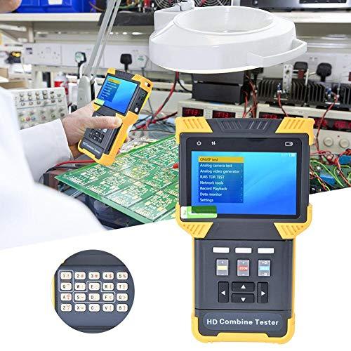 HD-Kombinationstester, 1080P Digitaler HD-Kombinationstester, CCTV-Tester, IP-Analog-Kamera-Tester, AC100–240 V Video-Monitor-Tester (UK)