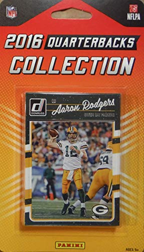 Unbekannt 2016 Donruss NFL Football Quarterbacks Collection Special Edition Factory Sealed 10 Karten QB Set inkl. Tom Brady, Russell Wilson, Aaron Rodgers, Cam Newton und andere