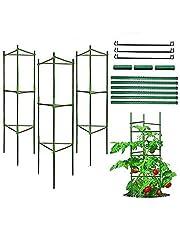 Apoyo para Plantas, Robustos Postes de Soporte para Plantas, Jaula para Plantas de Tomate, Escalada Vegtables, Flowers, Fruit Grow Cage