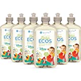 Earth Friendly Products ECOS Disney Baby Bottle & Dish Wash, Free & Clear, Hypoallergenic, 17 Ounce (6 Pack), 6 Count