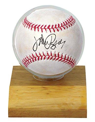 MLB Soporte de béisbol de madera