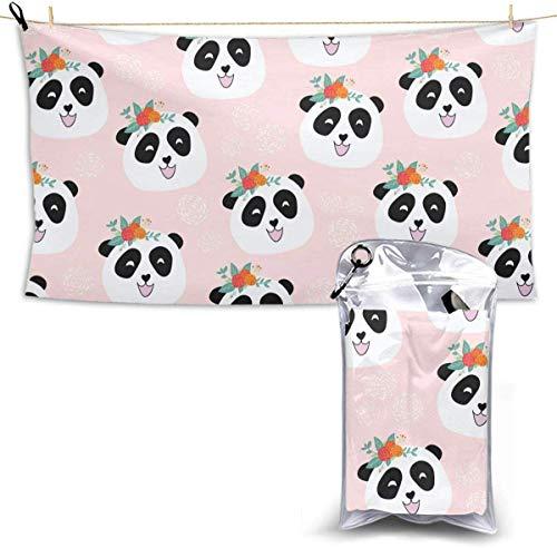 congminbai Toallas de Playa Oso Panda Toalla de Secado rá