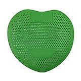 YNGJUENCP Urinal Screen Splash Mat Urinalmatte Mit Duft Passt Für Die Meisten Top-Urinal In Restaurants, Büros, Schulen 10 Stück (grün)