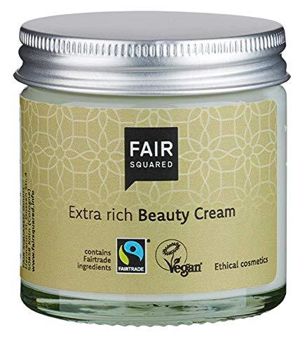 FAIR SQUARED Beauty Cream Argan Schönheitscreme ZERO WASTE 50 ml, zertifizierte Naturkosmetik